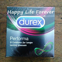 Durex Performa isi 3 - kondom kontrasepsi tahan lama