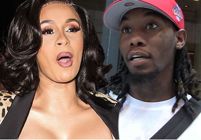 ME AND OFFSET HAVE SPLIT - CARDI B