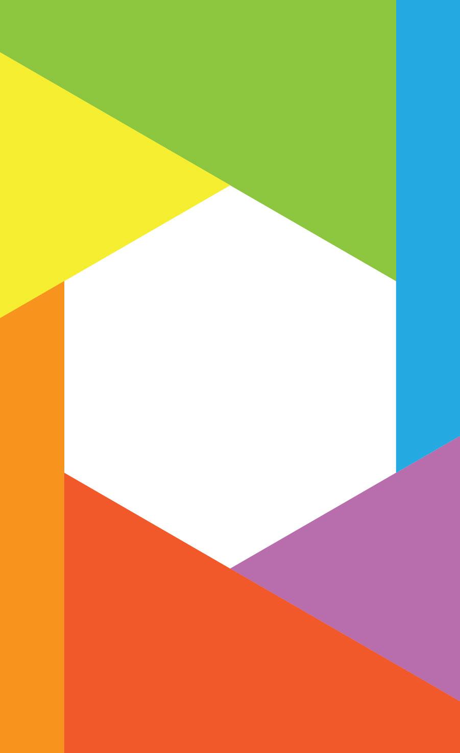 hexagonal id card