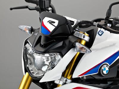 BMW G310R front headlight