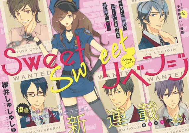 Sakurai Shushushu lança série sobre vinganca na Aria: Sweet sweet revenge