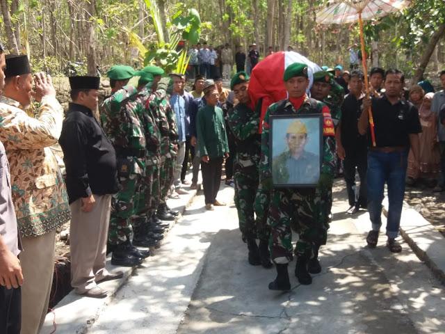 Veteran Pejuang Kemerdekaan RI Terima Penghormatan Terakhir Dari Kodim Klaten