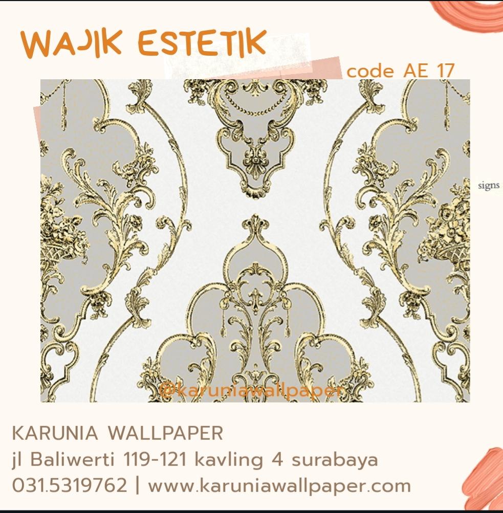 toko jual wallpaper dinding estetik