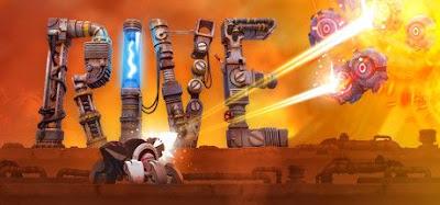 صورة  لتجربة العبة RIVE روبوت القرصنة والقتال في جهاز الحاسوب
