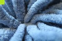 zoomen: Norcho 50x80cm Absorbierende Rutschfeste Badematte für Hund und Badezimmer Blau