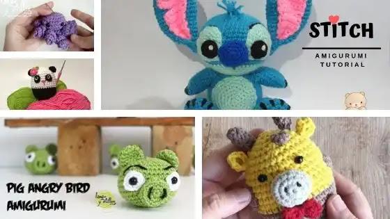 5 Tutoriales Para Aprender a Tejer Amigurumis a Crochet