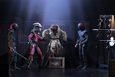 "San Diego Comic-Con 2019 Exclusive Teenage Mutant Ninja Turtles 1990 Movie ""The Capture of Splinter"" Action Figure 4 Pack by NECA"
