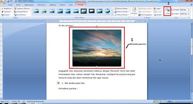 Cara memotong Foto