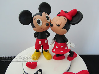 love cake minnie mickey disney