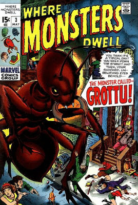 Where Monsters Dwell #3, Grottu