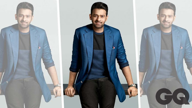 Rebal Star Prabhas Features On The Cover of GQ Magazine