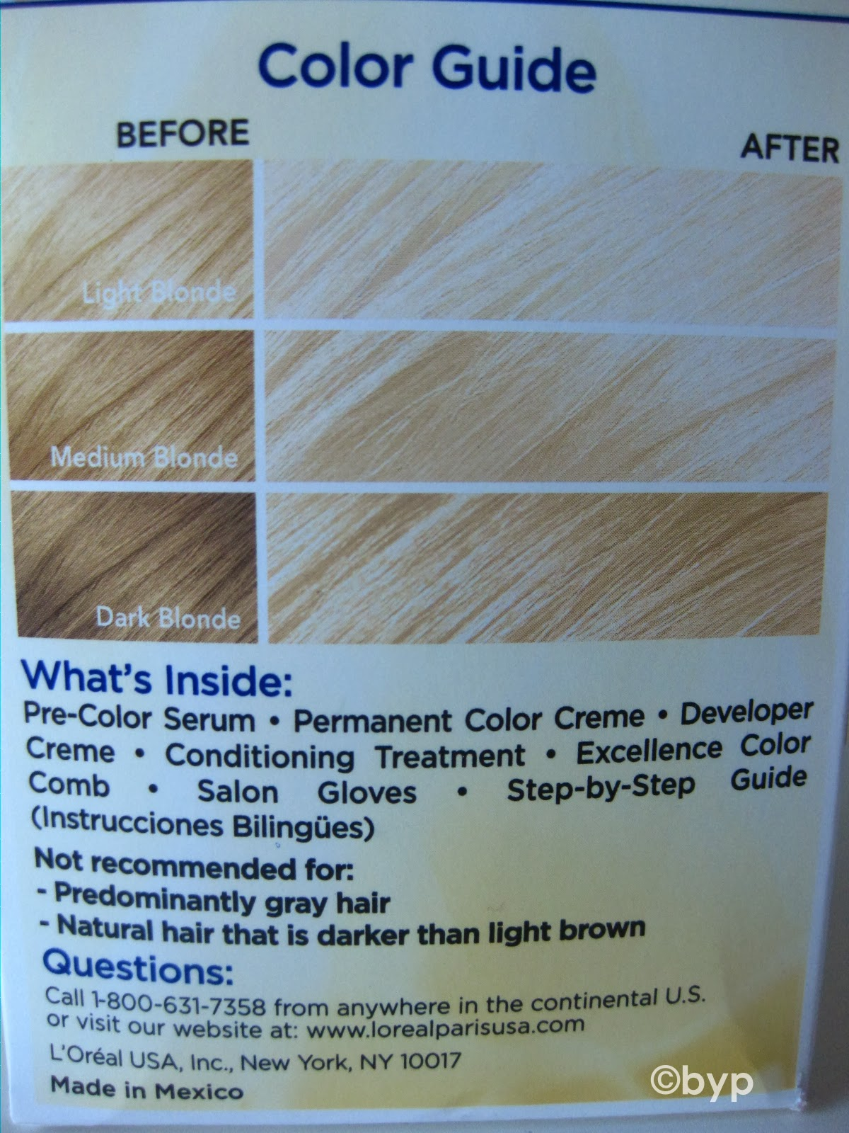 Palty Hair Dye Color Chart Adventures Of A Bright Young Person L 39 Oreal