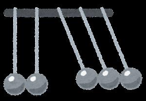 ニュートンのゆりかごのイラスト6