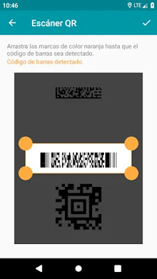 Lector de códigos QR y barras (PRO)