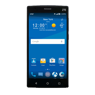 AT&T ZTE Zmax 2 LTE Android phone
