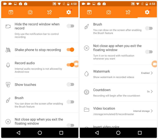DU Android Screen Recorder Apk