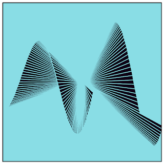 A wave shape with this code.