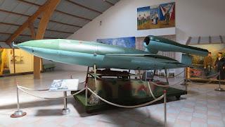 V1 exposé dans le Musée de Tosny