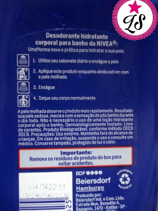 Hidratante Pós Banho NIVEA MILK