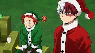 ヒロアカ 5期アニメ |  轟焦凍 サンタ クリスマス | Todoroki Shoto ショート | 僕のヒーローアカデミア  My Hero Academia | Hello Anime !