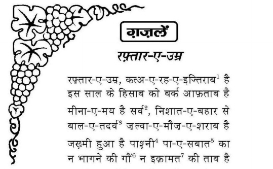 Mirza Galib Shayari in Hindi Pdf