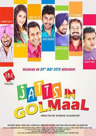 Jatts in Golmaal 2013 Full Punjabi Movie Download HDRip 720p