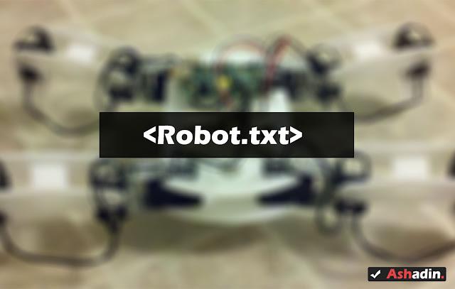 Setting Robot.txt yang benar untuk Blogger