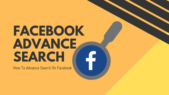 Advanced Search Facebook App<br/>