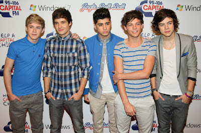 One direction british music group
