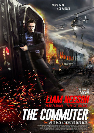 The Commuter 2018 Full HDRip 720p English Movie Download
