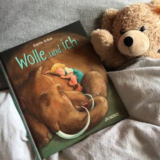 """""""Wolle und ich"""" von Quentin Gréban, Jumbo Verlag, Rezension auf Kinderbuchblog Familienbuecherei"""