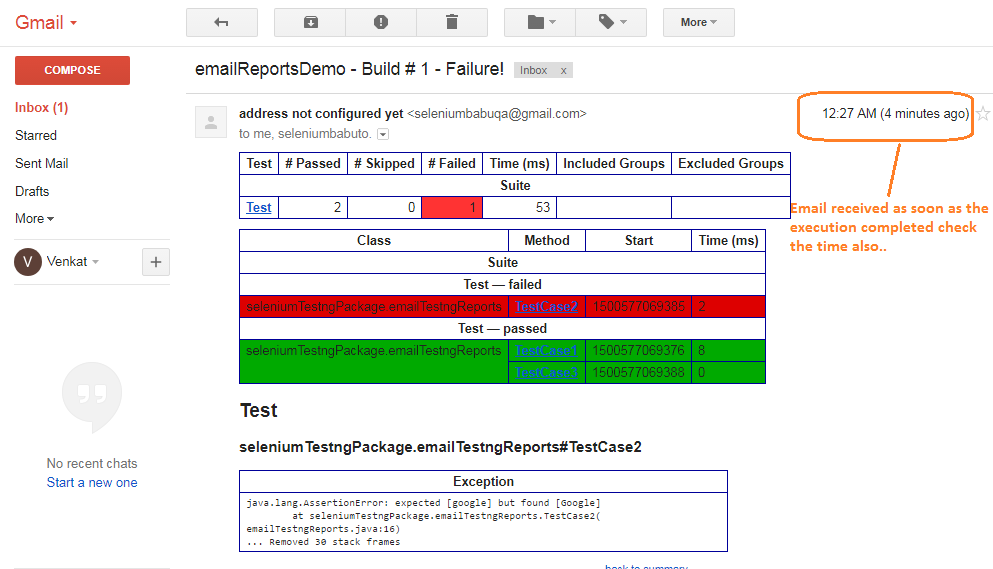 QA BABU: How to email Selenium results reports using Jenkins?
