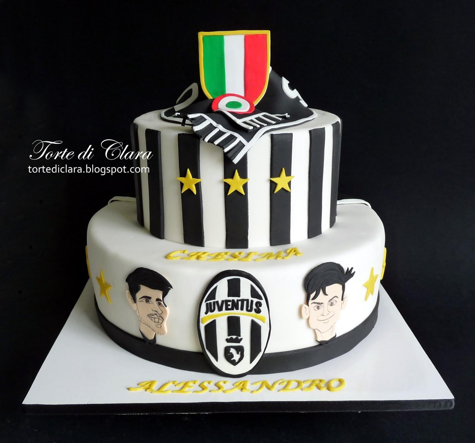 Bien-aimé Torte di Clara: Juventus Cake (2) JX59