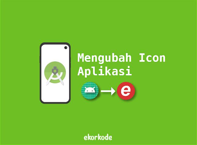 ubah logo aplikasi android studio