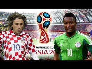 مشاهدة مباراة نيجيريا وكرواتيا