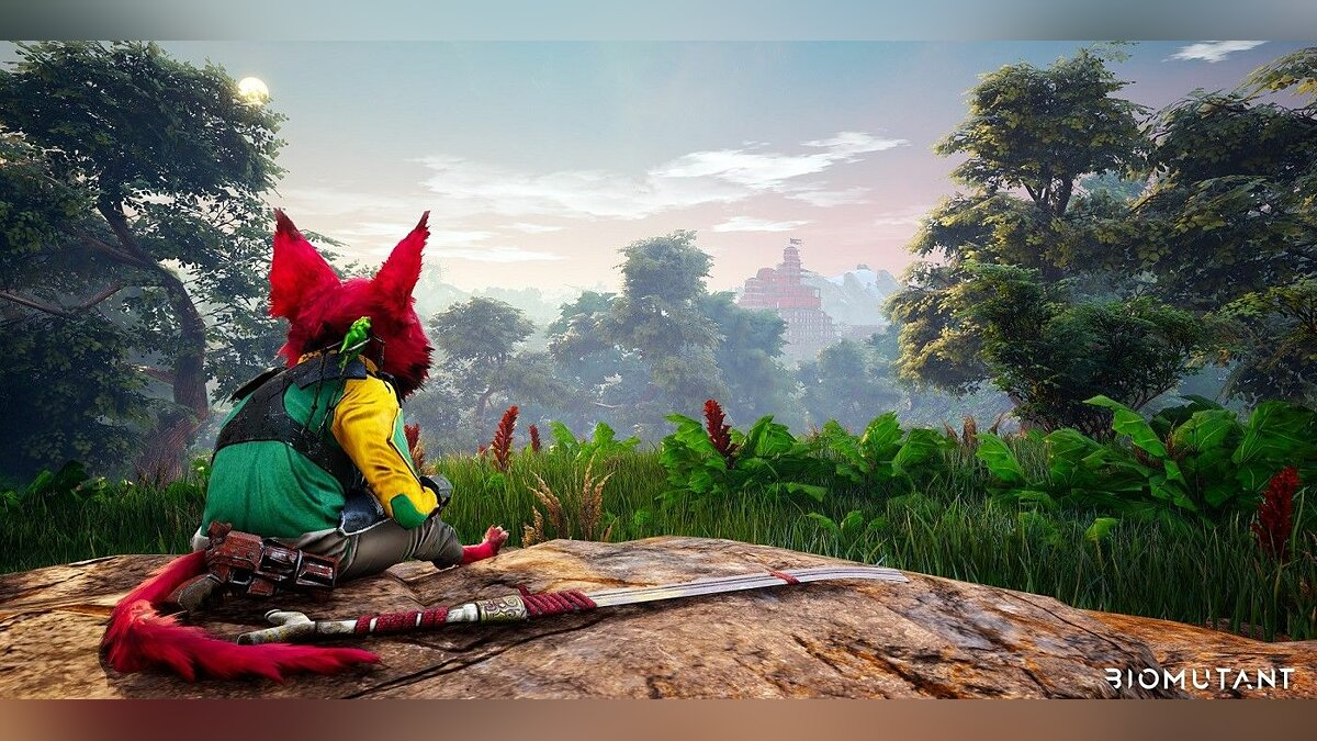 How to craft and upgrade weapons in Biomutant