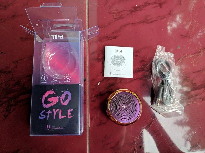 Paket Pembelian Mifa i8