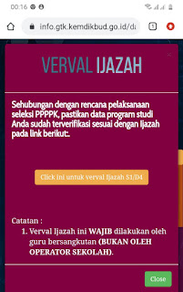 Info Seleksi Ppppk Ada Di Infogtk