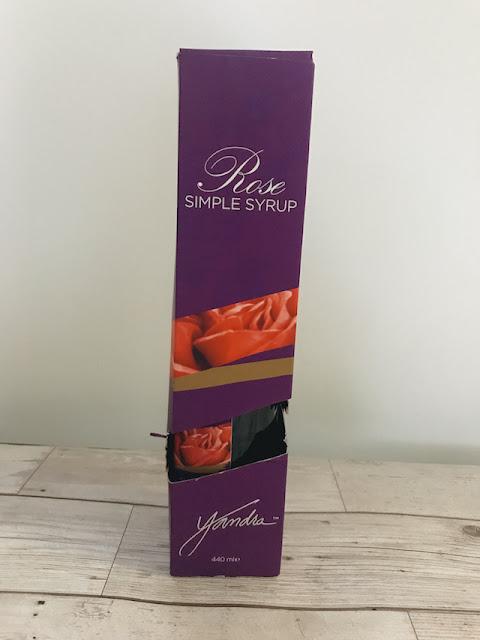 Yandra Rose syrup - boxed