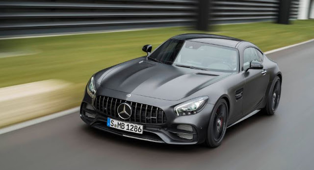 2018 Mercedes-AMG GT C Coupe Debuts  end Performance