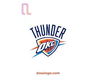 Logo Oklahoma City Thunder Vector Format CDR, PNG
