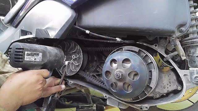 طريقة عمل محرك الدراجة