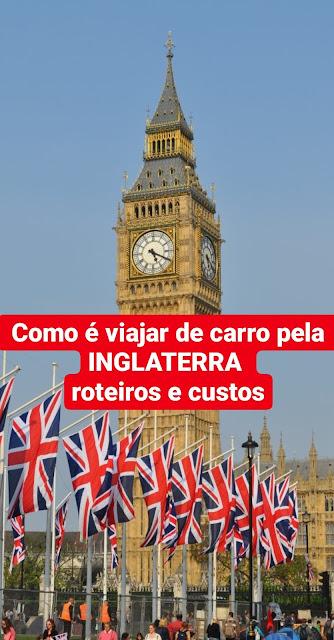 Roteiros de carro pela Inglaterra