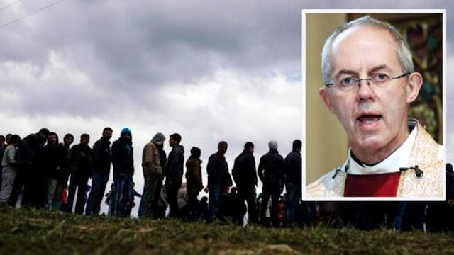Αρχιεπίσκοπος Αγγλίας: Δεν είναι ρατσιστές όσοι «φοβούνται» το μεταναστευτικό!
