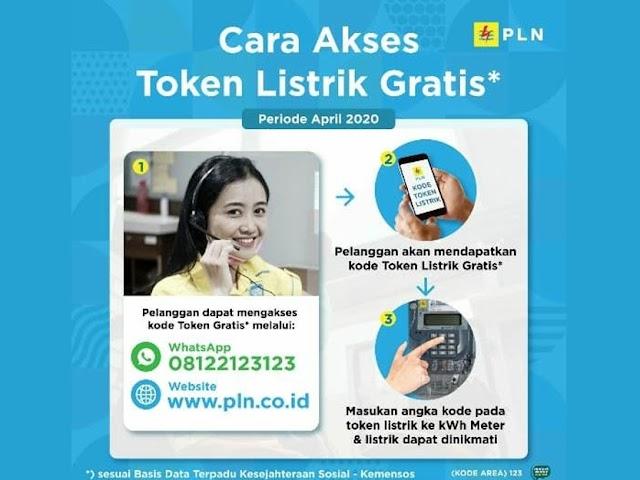 Ini Cara Akses Token Gratis dari PLN untuk Pelanggan Rumah Tangga Prabayar 450 VA dan 900 VA Subsidi