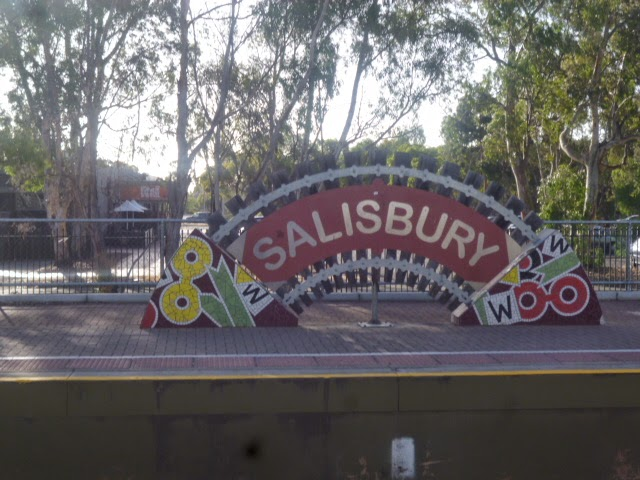 Salisbury Railway Station - North Bound