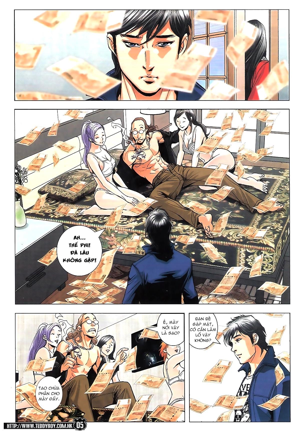 Người Trong Giang Hồ chapter 1782: tao đề bạt mày trang 3