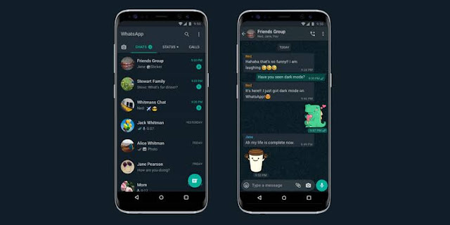 You Can Now Use WhatsApp in Dark Mode