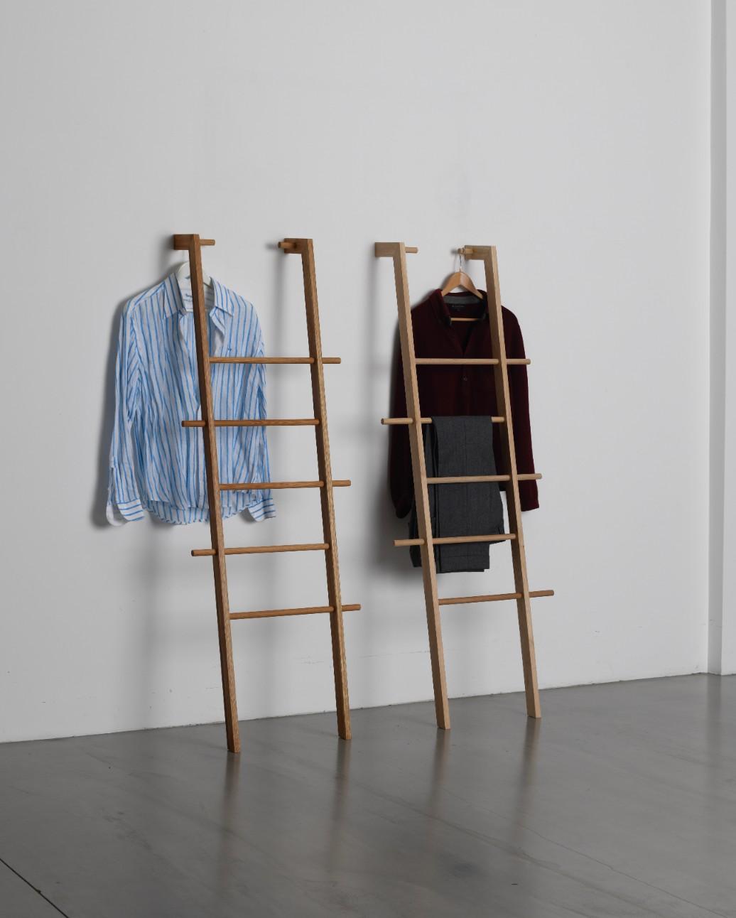 Clothes ladder bedroom Kleiderleiter schlafzimmer, wider than a normal one by Tidyboy
