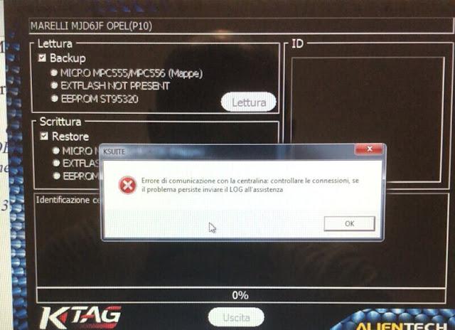 ktag-Marelli-6JO-error